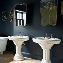 Navy Blue Bathrooms - 2017 inspiration