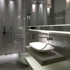 Contemporary Bathroom by Juliette Byrne