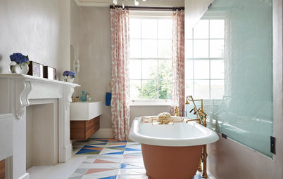 How to Work the Mix-and-match Trend in Your Bathroom
