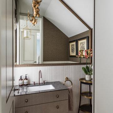 London Victorian property, Guest Bathroom