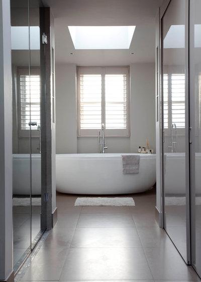 Contemporary Bathroom by Emma Green Design