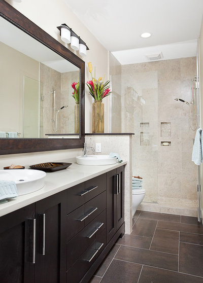 Transitional Bathroom by In Detail Interiors