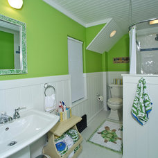 Eclectic Bathroom by Hyland Homes
