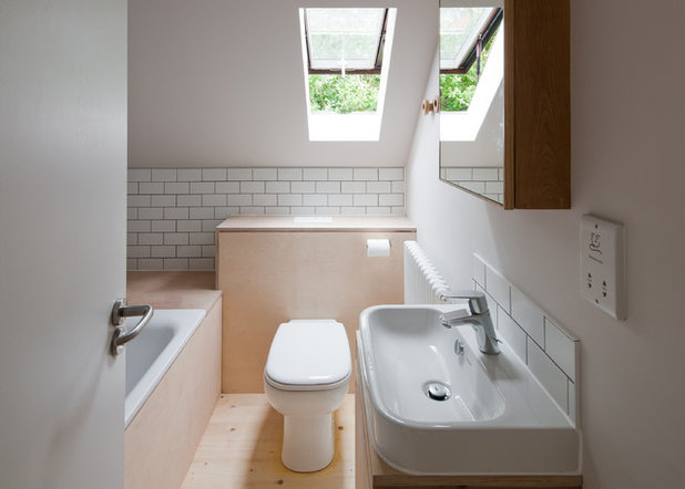 Scandinavian Bathroom by Mailen Design