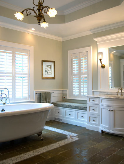 Traditional Bathroom by Alexander Johnson Photography