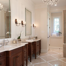 Traditional Bathroom by Bruning Homes, Inc.