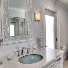 Beach Style Bathroom by Yoder Homes