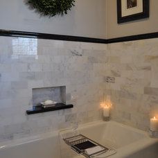 Traditional Bathroom by Betsy Giannini Design, LLC