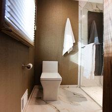 Contemporary Bathroom by Elizabeth Bland