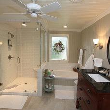 Traditional Bathroom by Jackson Construction, Inc.