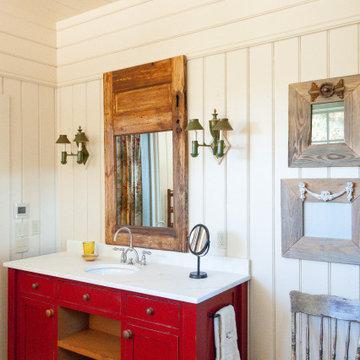 Longridge Farm Lakehouse Her Master Bathroom