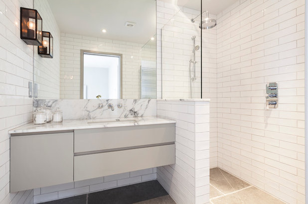Metro Tiles Bathroom Ideas: 10 Ways To Mix And Match Tiles In The Bathroom