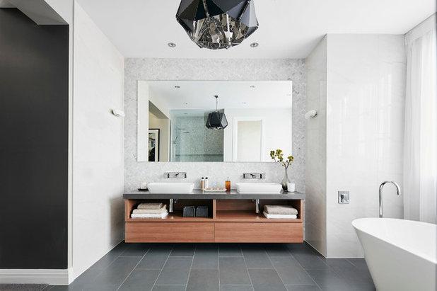 Contemporary Bathroom by Metricon