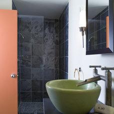 Asian Bathroom by Lori Dennis, ASID, LEED AP