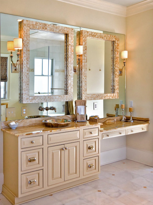 Traditional Bathroom Idea In Charleston With A Vessel Sink