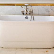 Traditional Bathroom by LORRAINE G VALE, Allied ASID