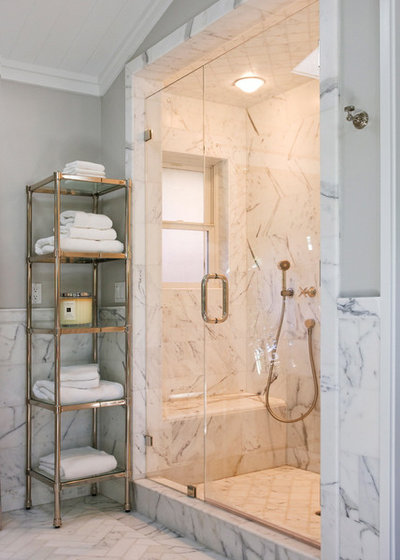 American Traditional Bathroom by Design Discoveries