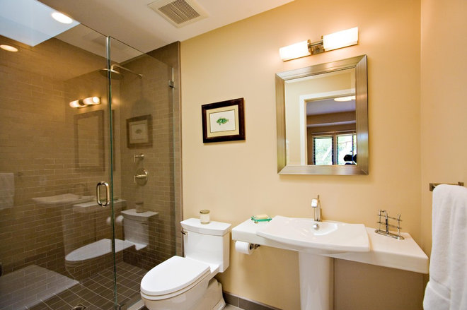 Contemporary Bathroom by Bill Fry Construction - Wm. H. Fry Const. Co.