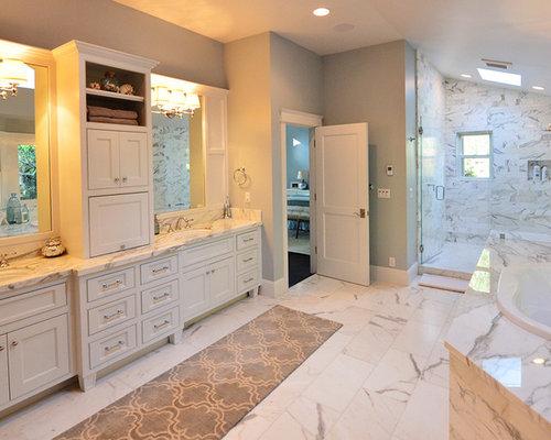 ger umige badezimmer mit linoleum ideen design beispiele. Black Bedroom Furniture Sets. Home Design Ideas