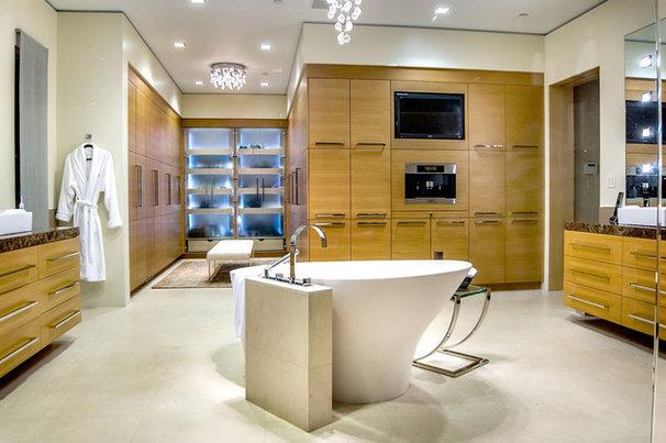 Contemporary Bathroom by Stotler Design Group