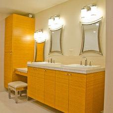 Midcentury Bathroom by Weaver Design Group