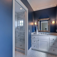 Traditional Bathroom by Eric Aust Architect