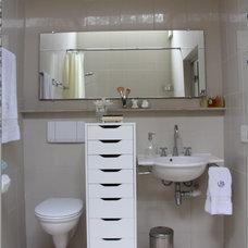 Contemporary Bathroom by Lori Dennis, ASID, LEED AP