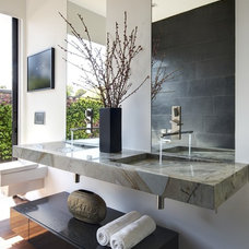 Modern Bathroom by Michael Kelley Photography