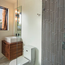 Contemporary Bathroom by Modern Mecca™ | Los Angeles Home Staging