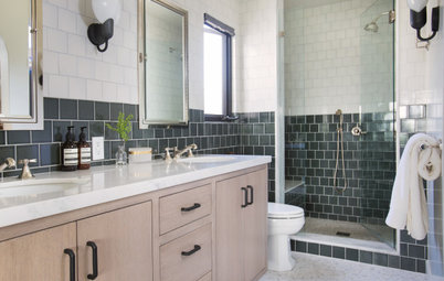 New This Week: 4 Visual Tricks With Bathroom Tile