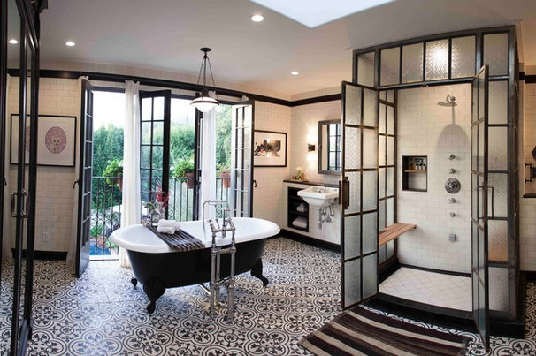 Traditional Bathroom by Deirdre Doherty Interiors