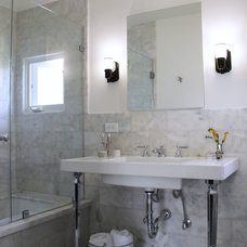 Traditional Bathroom by Amy Sklar Design Inc