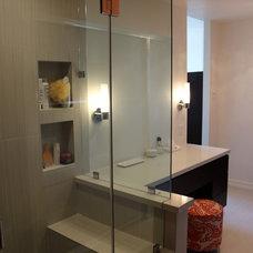 Eclectic Bathroom by Noah Construction & Design