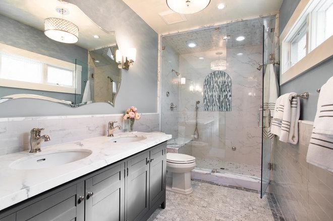 Traditional Bathroom by Bridgford Construction Inc.