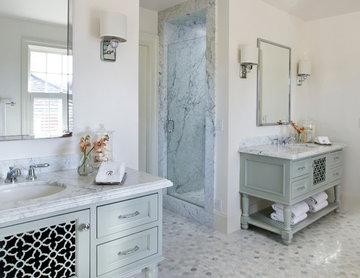 Los Gatos Historic Renovation Master Bathroom