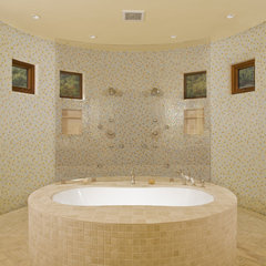 mediterranean bathroom by Conrado - Home Builders