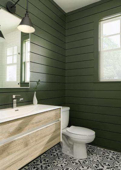 Country Bathroom by Villani + Graham