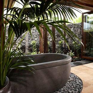 Inspiration för exotiska badrum