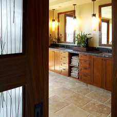 Contemporary Bathroom by GM Construction, Inc.
