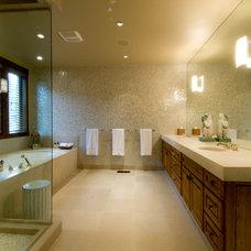 Traditional Bathroom by Rockwood Design Associates, Inc.