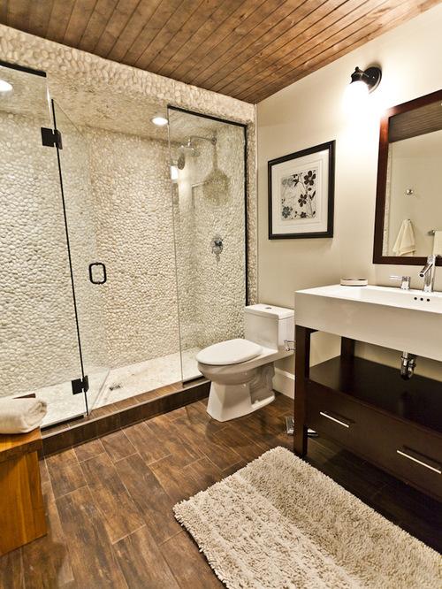 wood tile bathroom floor best 25+ wood tile bathrooms ideas on