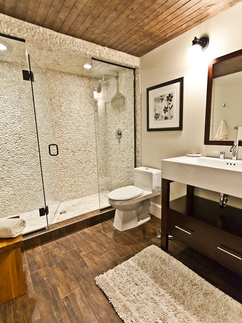 SaveEmail - Wood Tile Floor Houzz