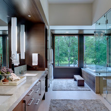 Contemporary Bathroom by Linda Fritschy Interior Design