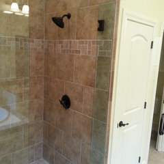 traditional bathroom by HOLTON Flooring & Interiors