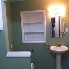 Traditional Bathroom by Midwest Remodeling