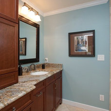 Traditional Bathroom by JeanE Kitchen and Bath Design, Inc.