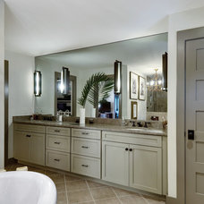 Transitional Bathroom by K & K Custom Cabinets LLC