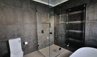 Low-iron Frameless Showerscreen