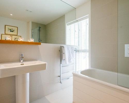 Sala Da Bagno Moderna : Stanza da bagno moderna cornovaglia foto idee arredamento