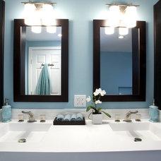 Contemporary Bathroom by Centennial 360